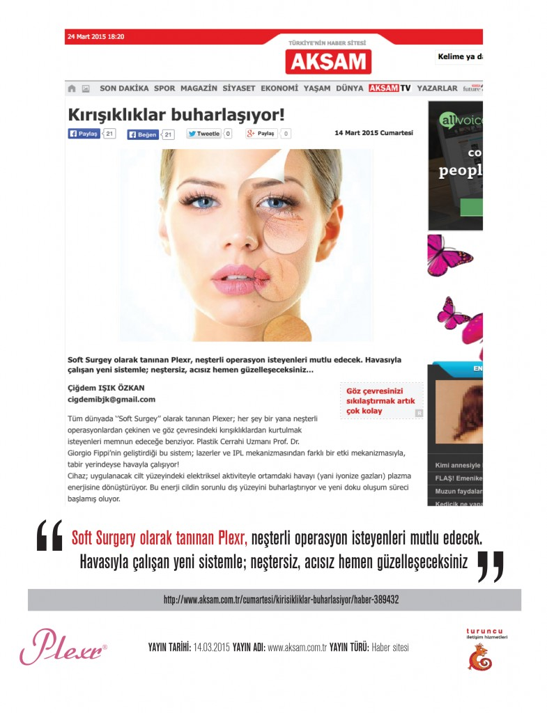 Naturamed-Plexr Akşam Cumartesi 14.03.2015