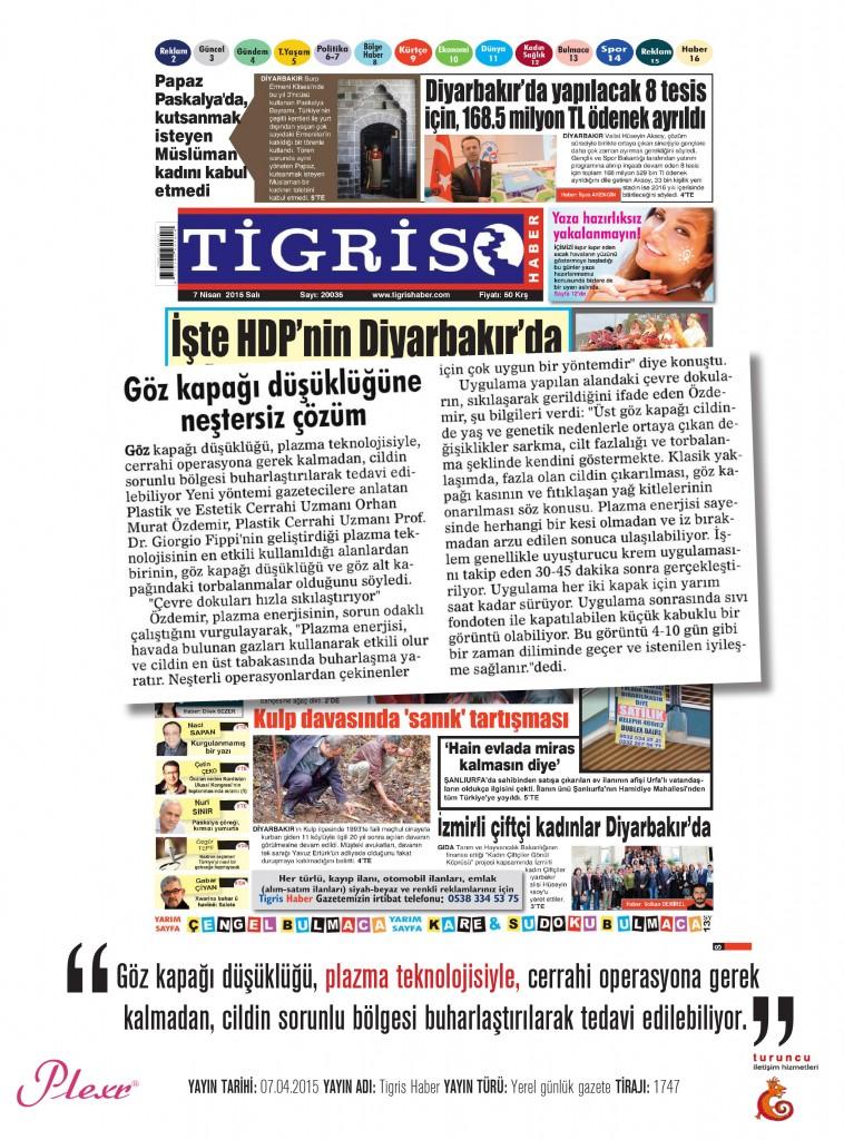 Naturamed-Plexr Tigris Haber 07.04.2015