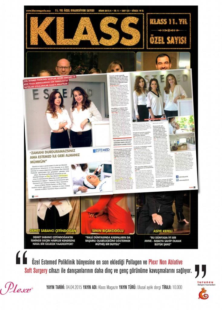 Naturamed-Plexr adı geçiyor. Klass Magazin  01.04